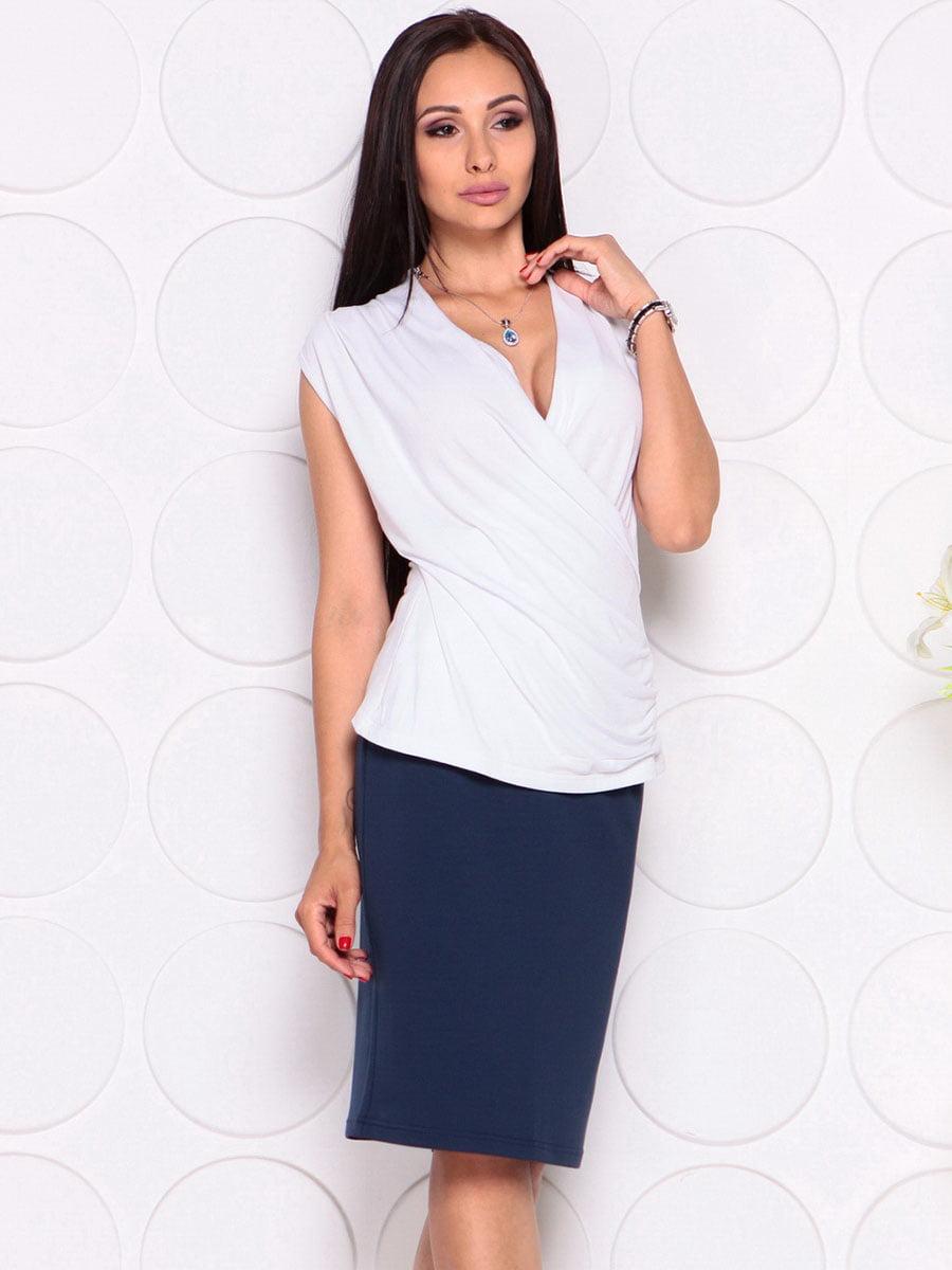 Блуза белая | 4382771 | фото 4