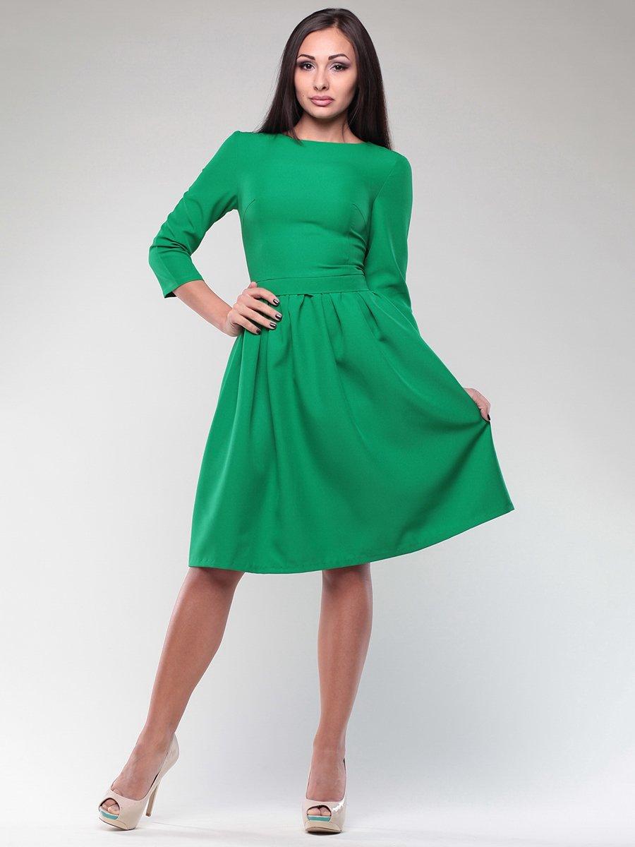 Платье изумрудного цвета   4382784