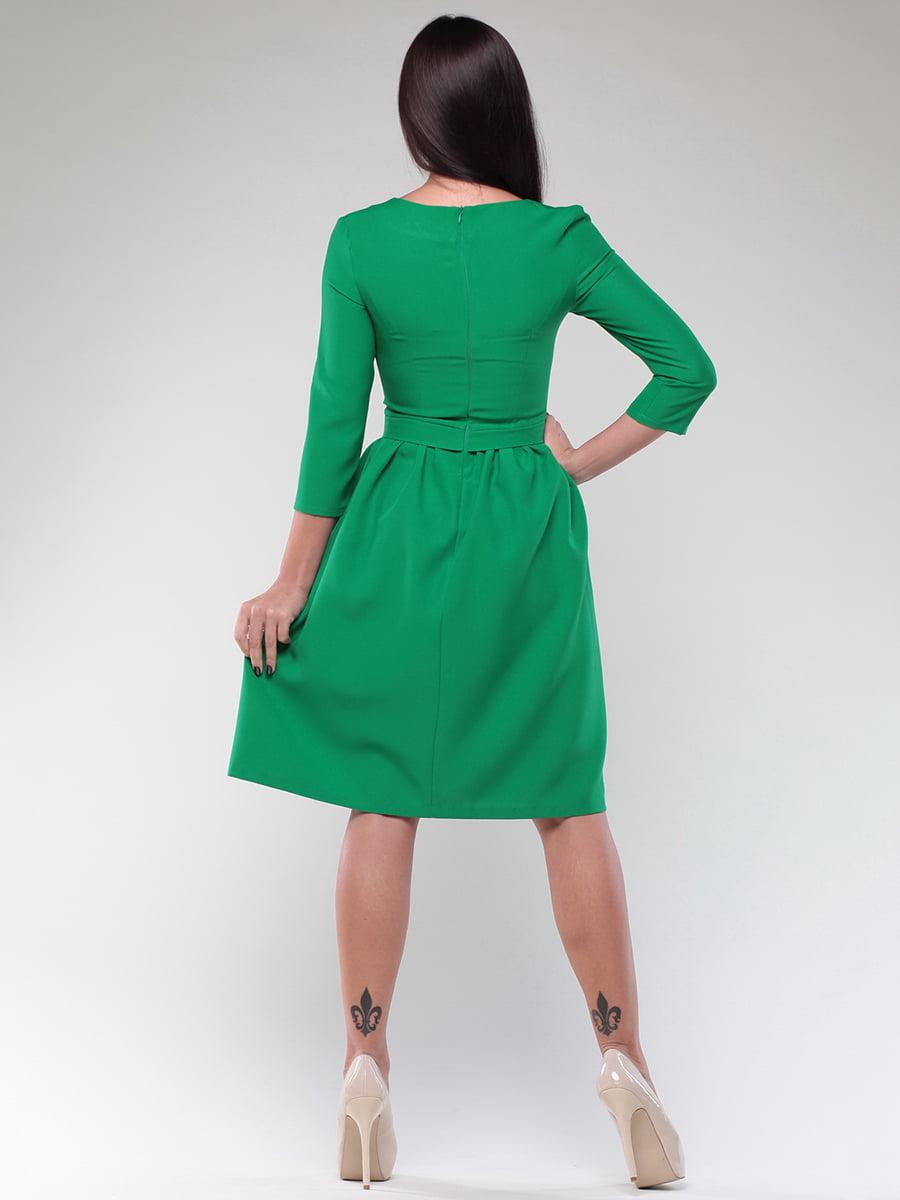 Платье изумрудного цвета   4382784   фото 2