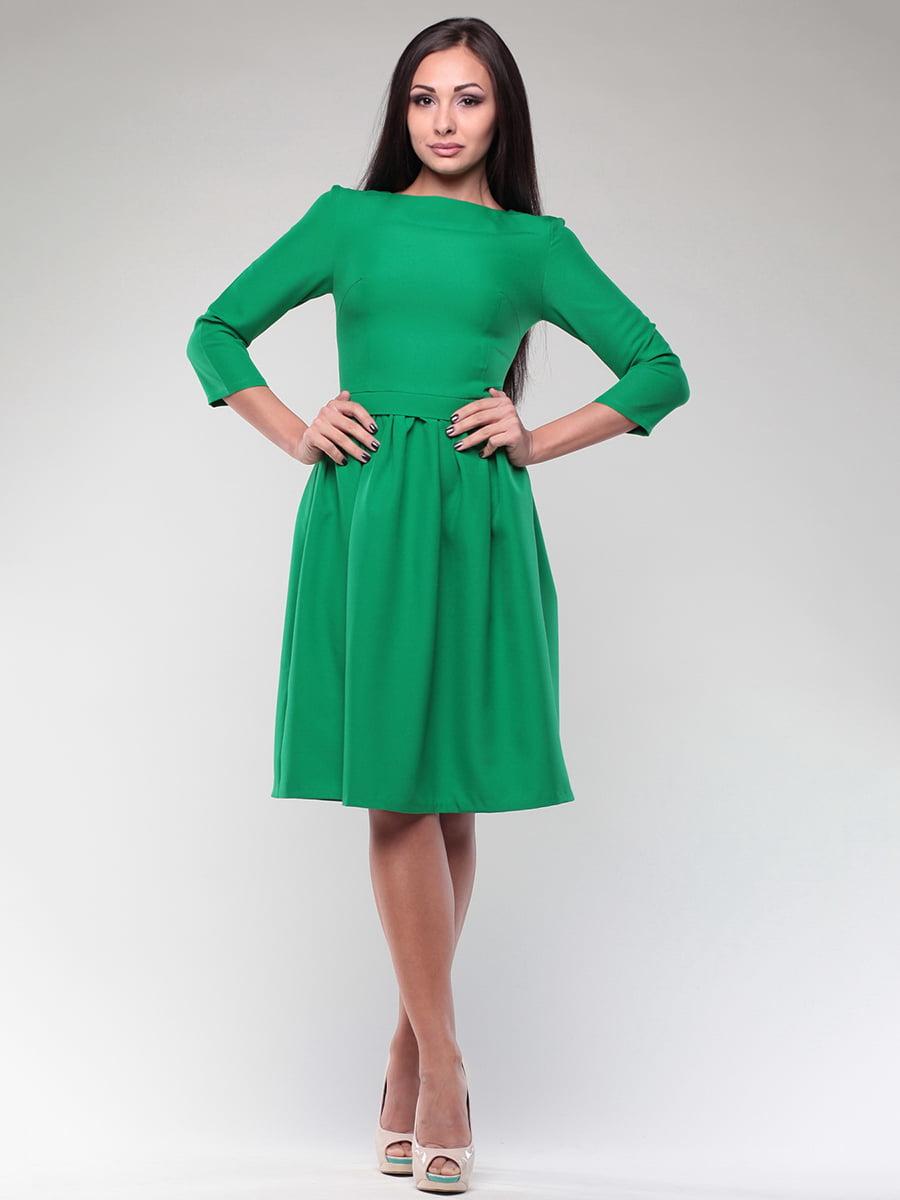 Платье изумрудного цвета   4382784   фото 4