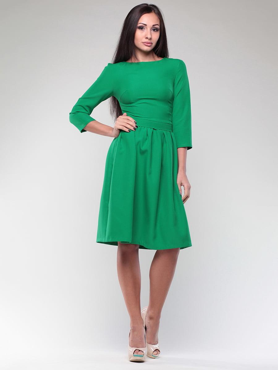 Платье изумрудного цвета   4382784   фото 5