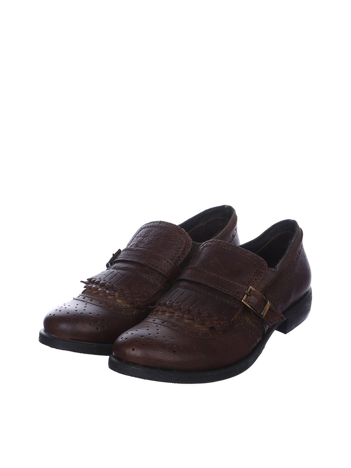 Туфли коричневые   4383431