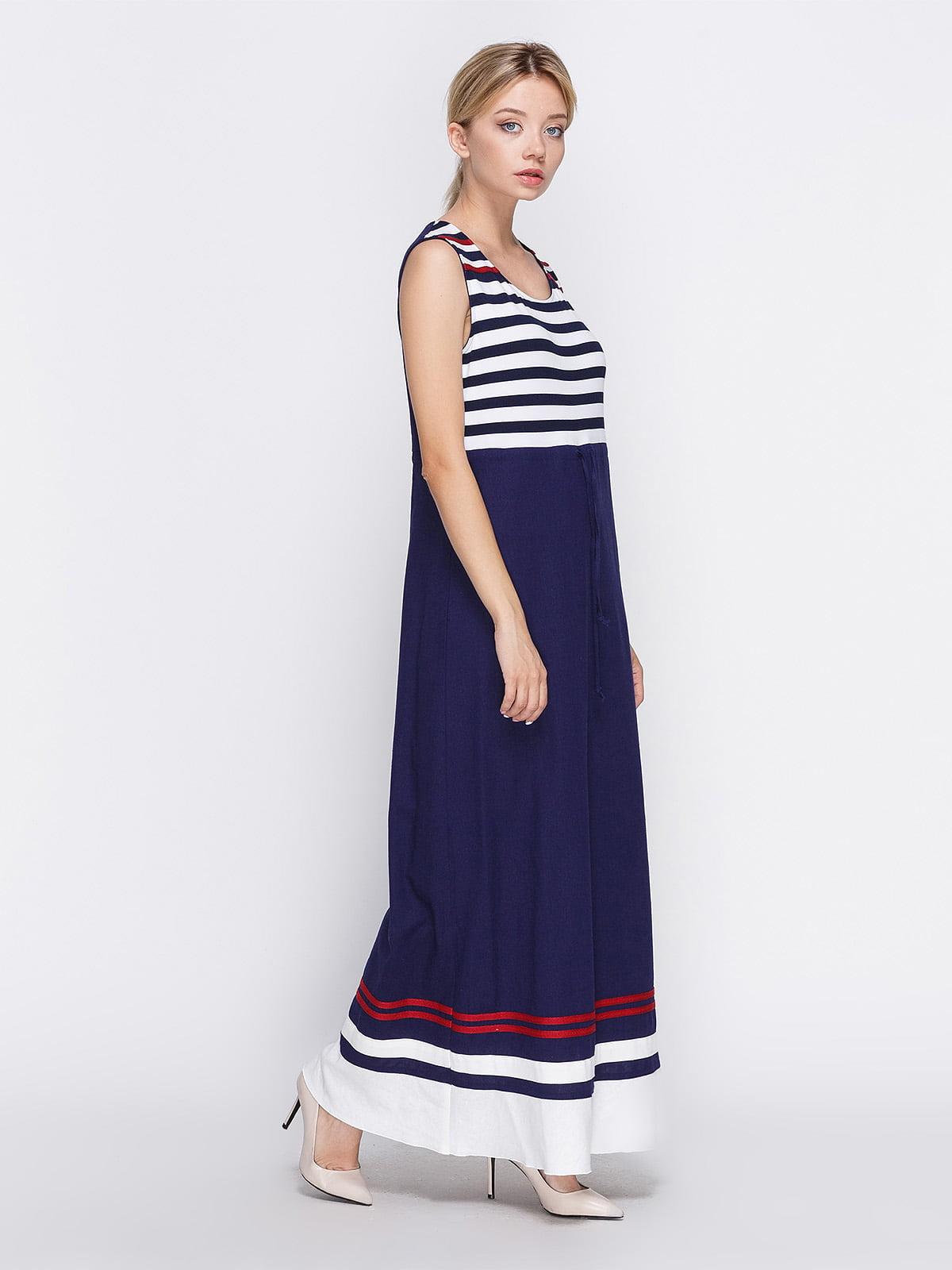 Платье темно-синее | 4358609