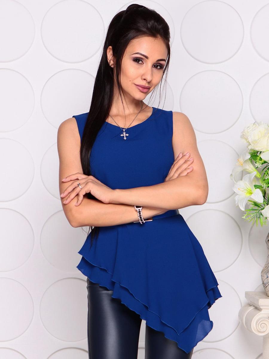 Блуза цвета электрик | 4384417 | фото 4