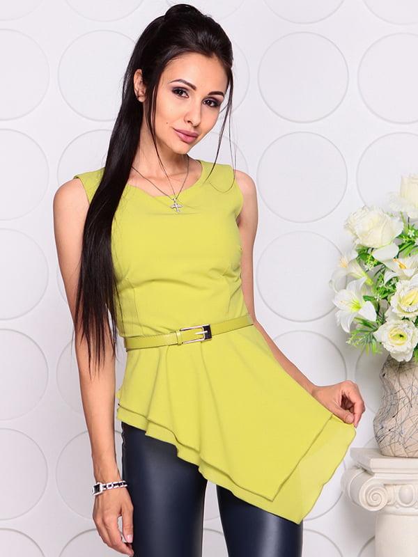 Блуза яблочного цвета | 4384421