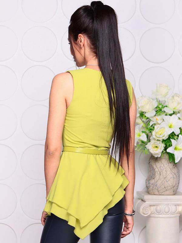 Блуза яблочного цвета | 4384421 | фото 2