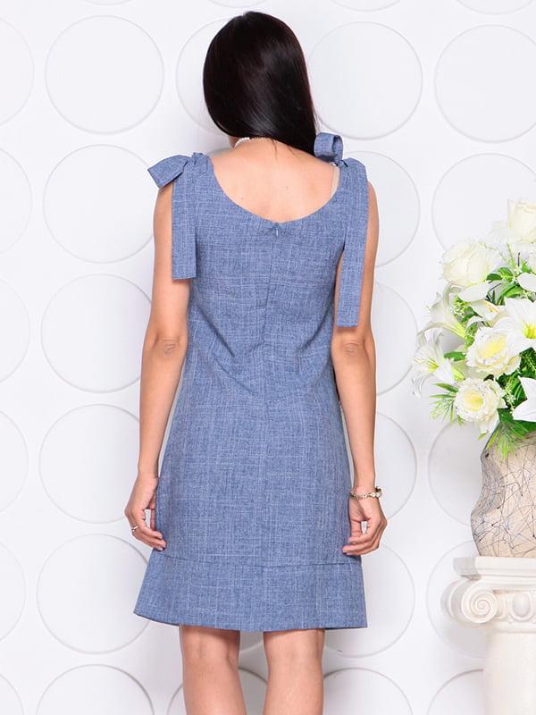 Платье цвета джинса | 4384425 | фото 2