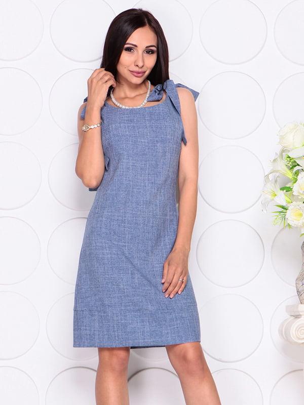Платье цвета джинса | 4384425 | фото 5