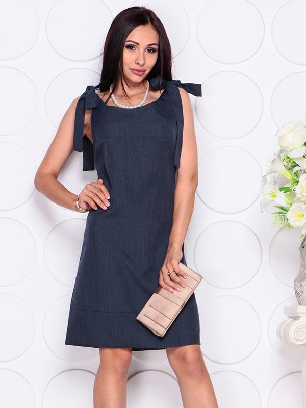 Платье темно-синее | 4384426