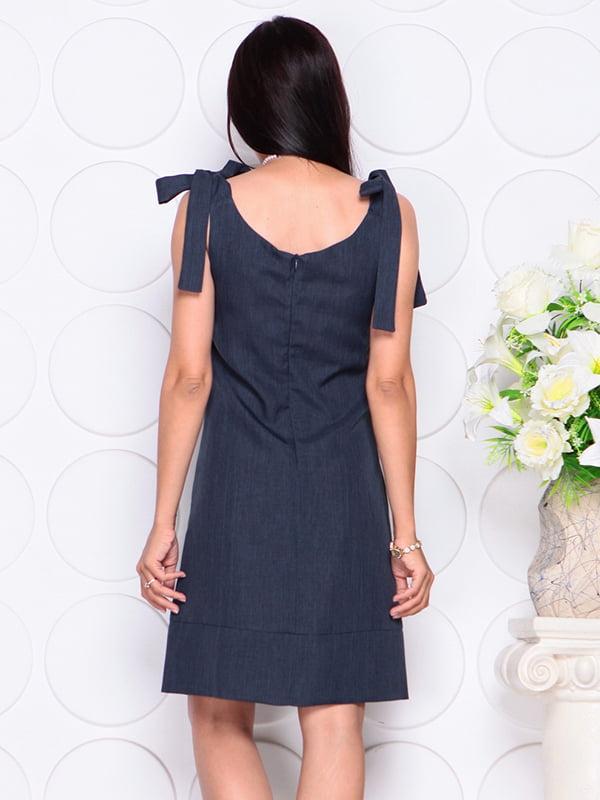 Платье темно-синее | 4384426 | фото 2