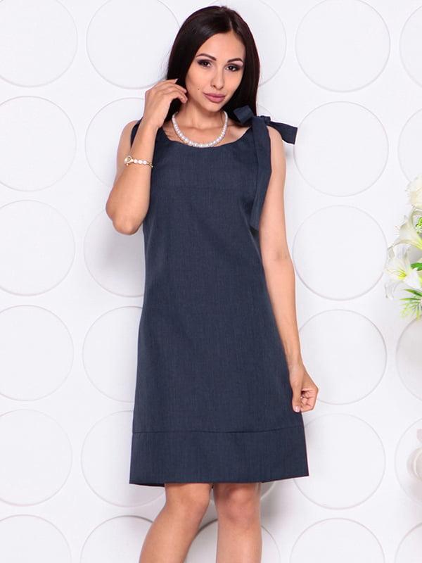 Платье темно-синее | 4384426 | фото 3