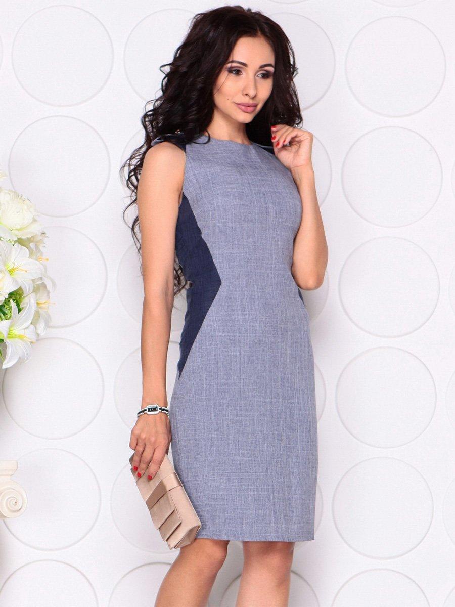 Сукня кольору фіолетового серпанку | 4384436