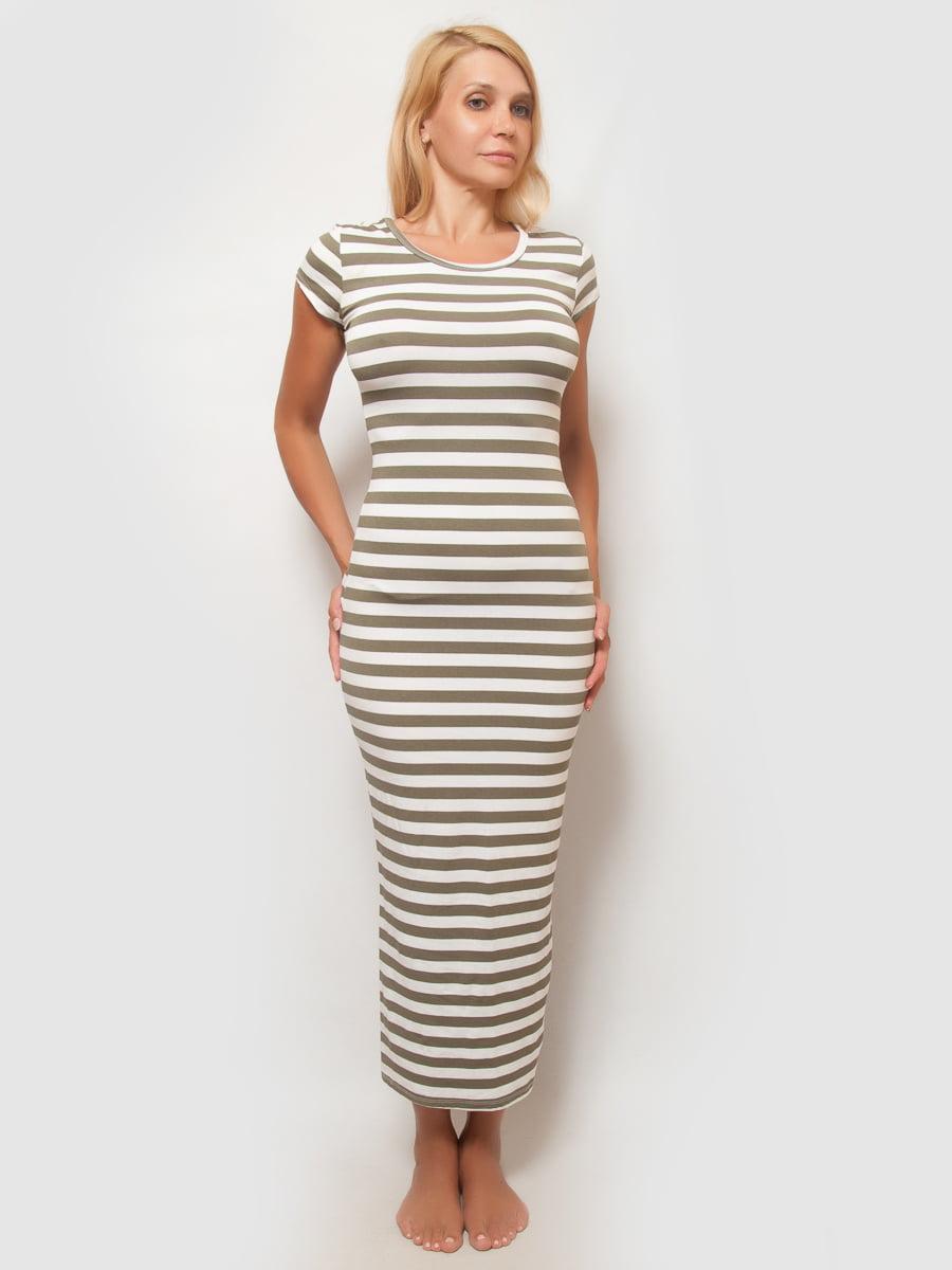 Платье в полоску | 4386124