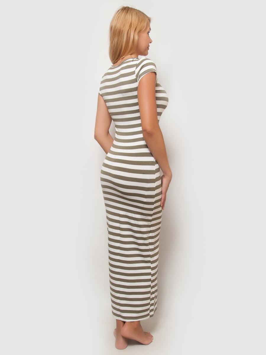Платье в полоску | 4386124 | фото 2
