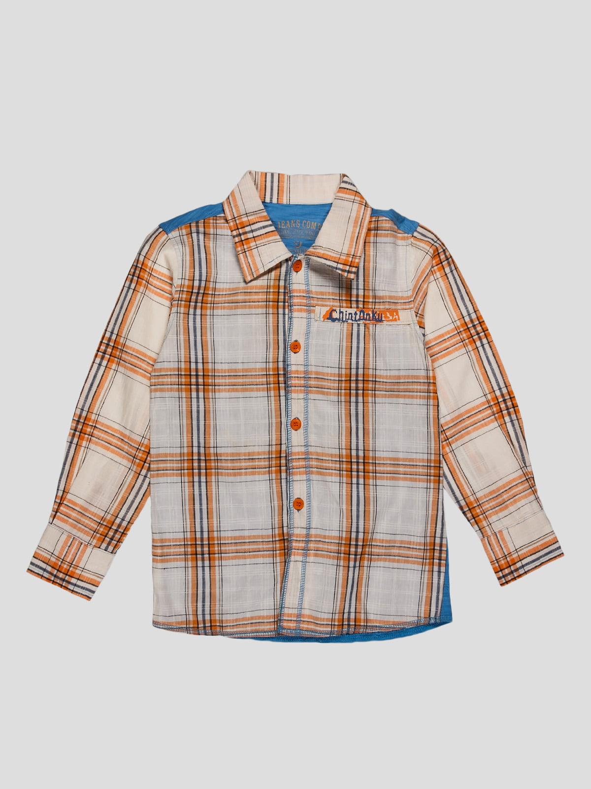 Рубашка клетчатая | 2913358