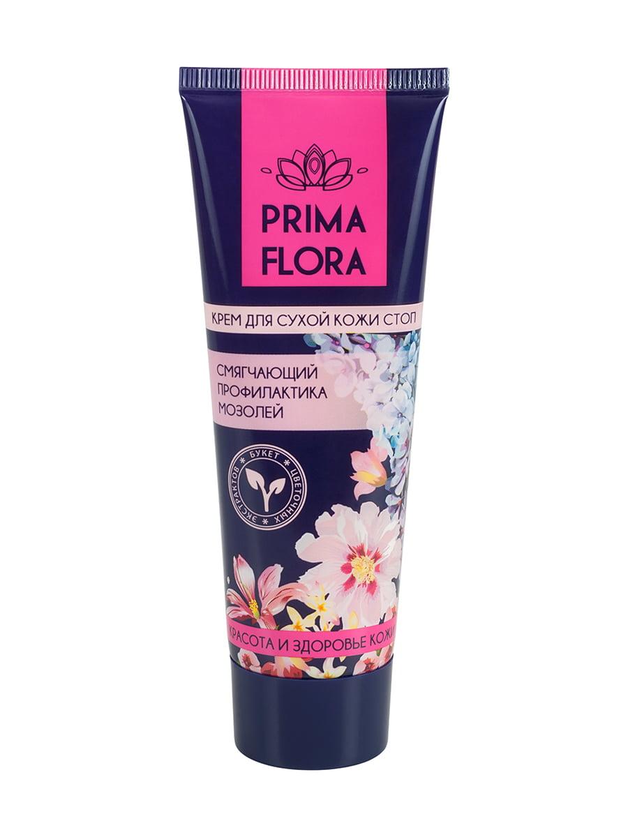 Крем для сухої шкіри ступнів Prima Flora пом'якшувальний профілактика мозолів (75 г)   4386709