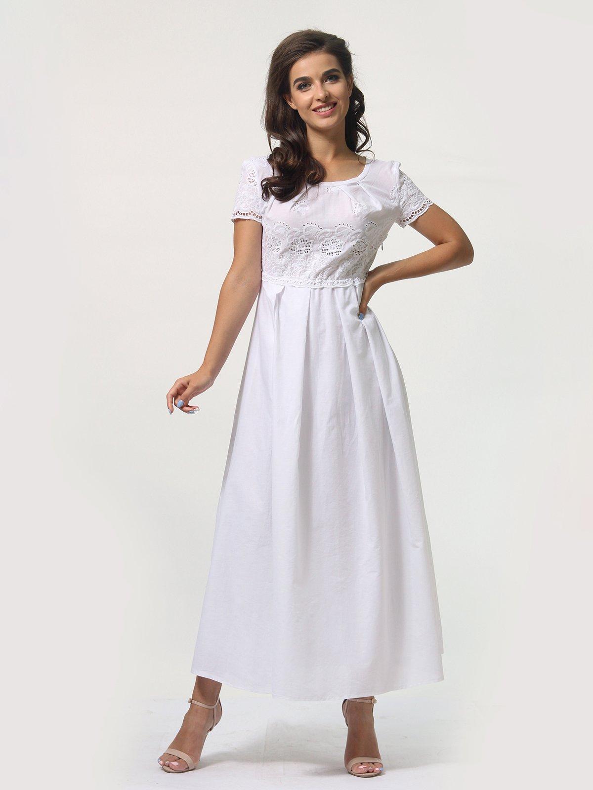 Платье белое   4388465