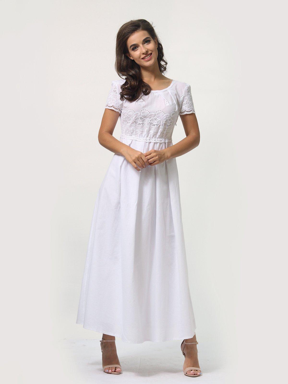 Платье белое   4388465   фото 2