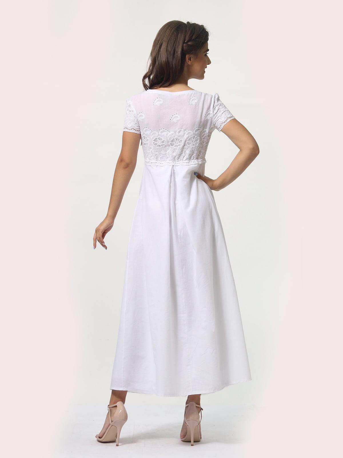 Платье белое   4388465   фото 5