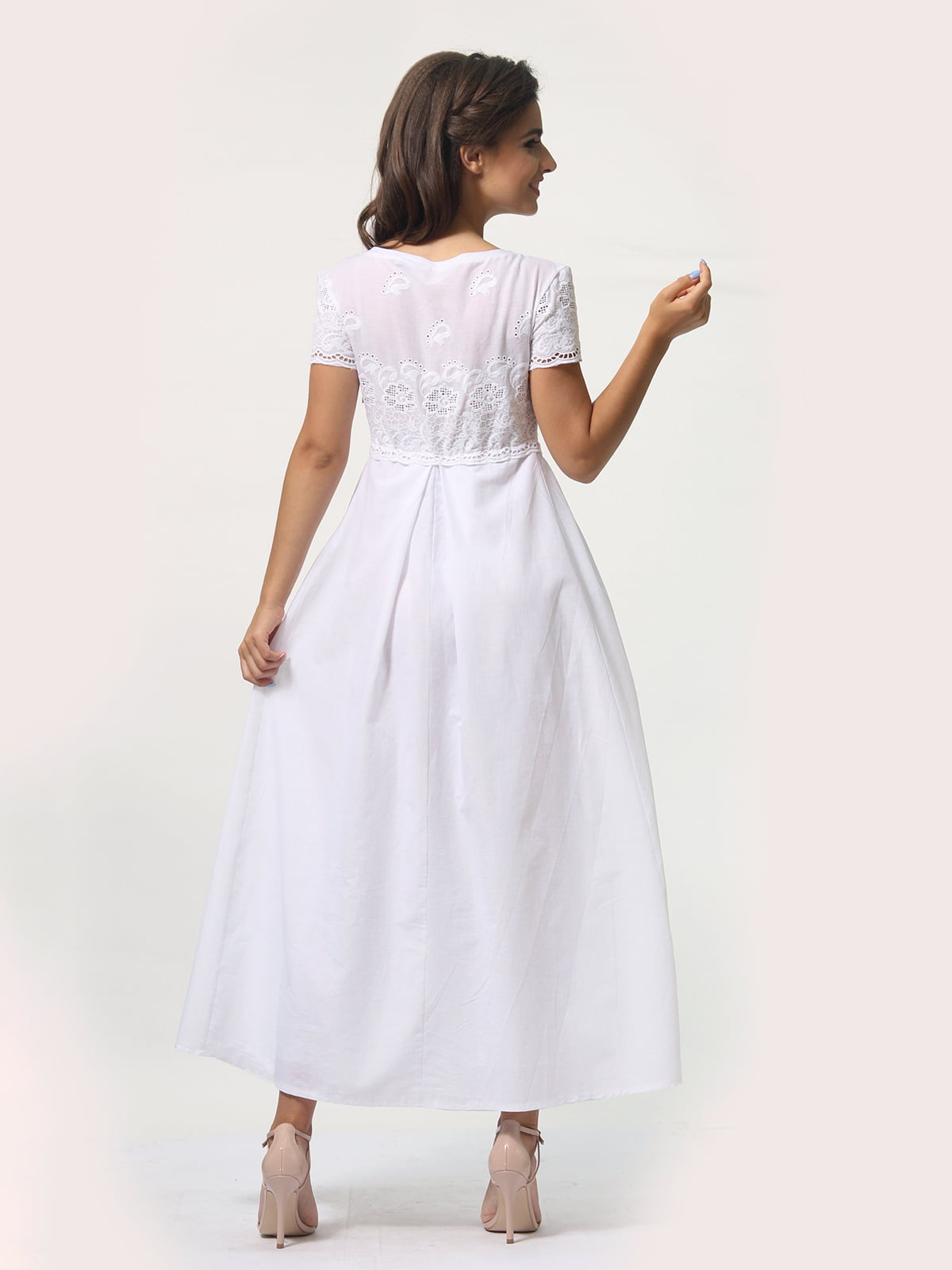 Платье белое   4388465   фото 6