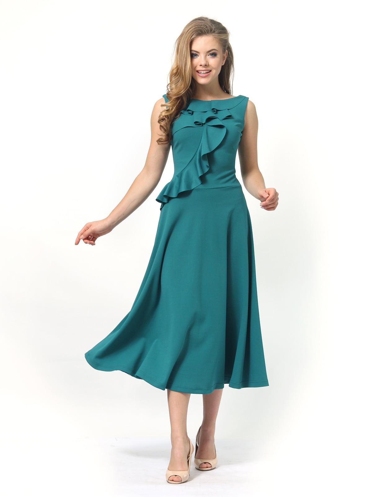 Платье зеленое | 4389313