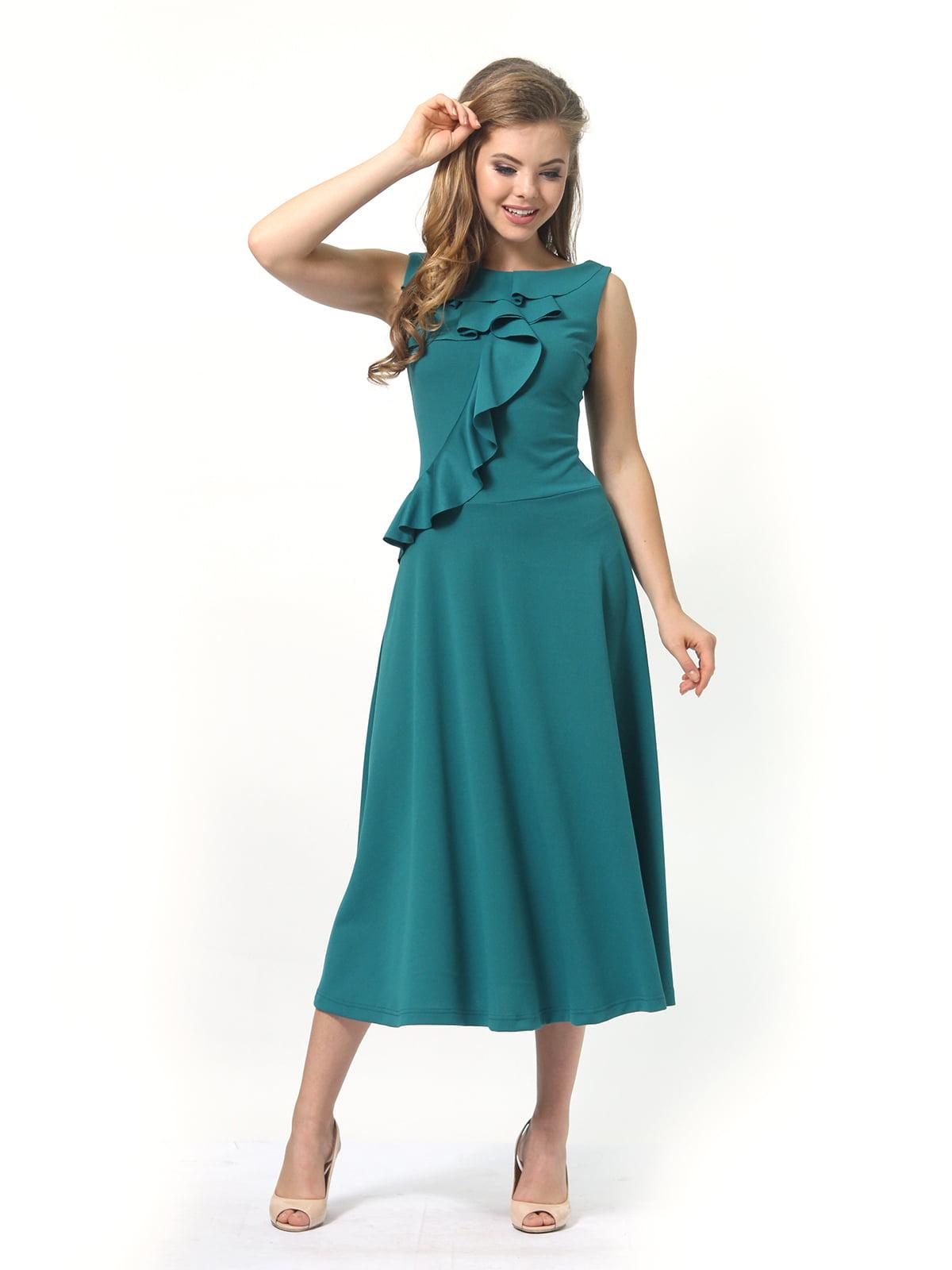 Платье зеленое | 4389313 | фото 2