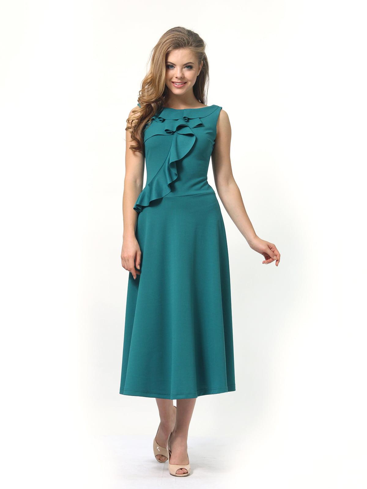 Платье зеленое | 4389313 | фото 3