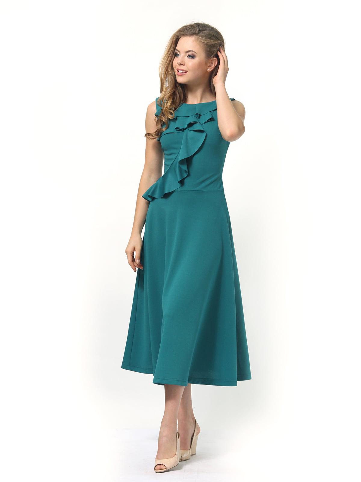 Платье зеленое | 4389313 | фото 4