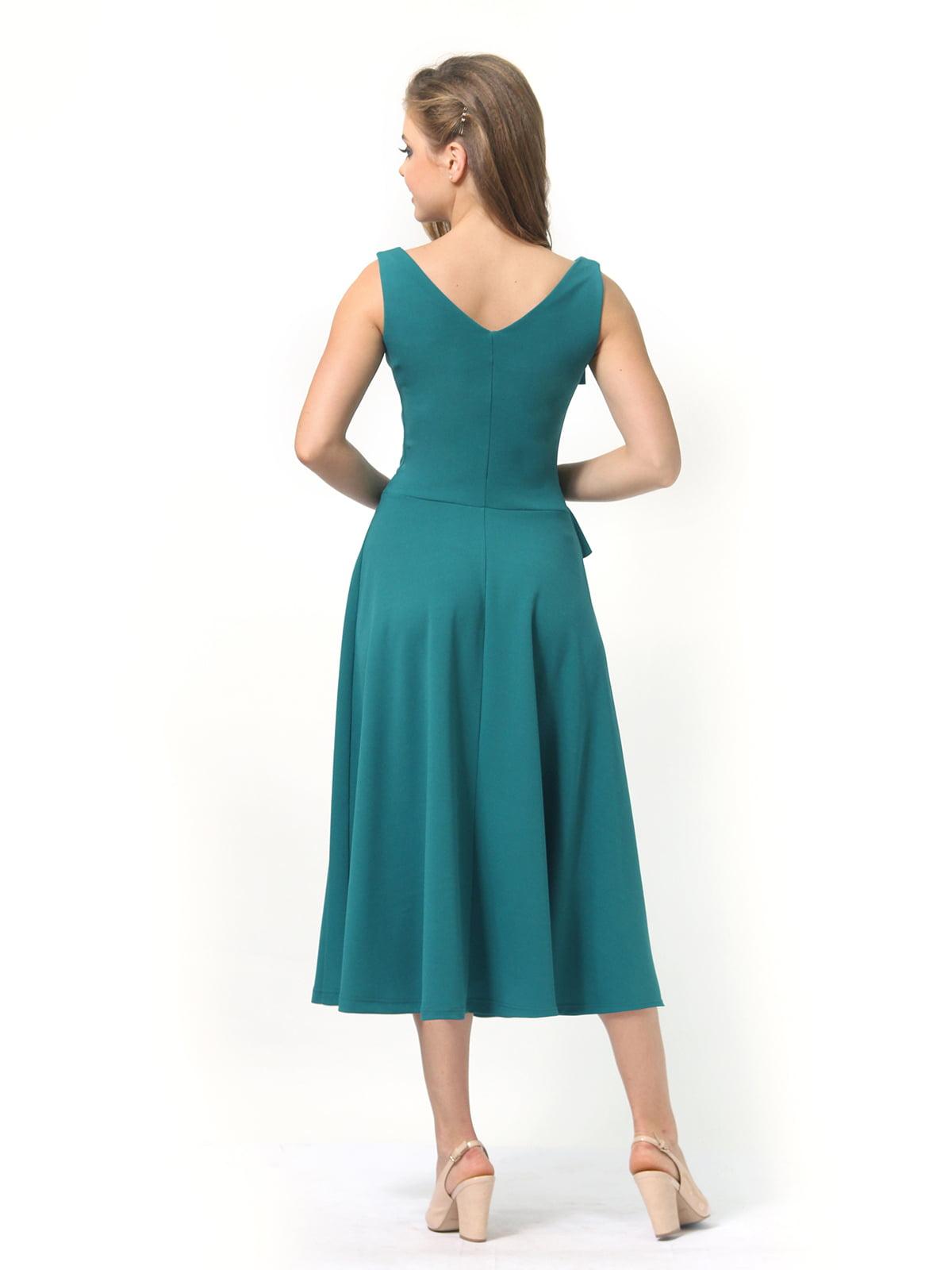 Платье зеленое | 4389313 | фото 5