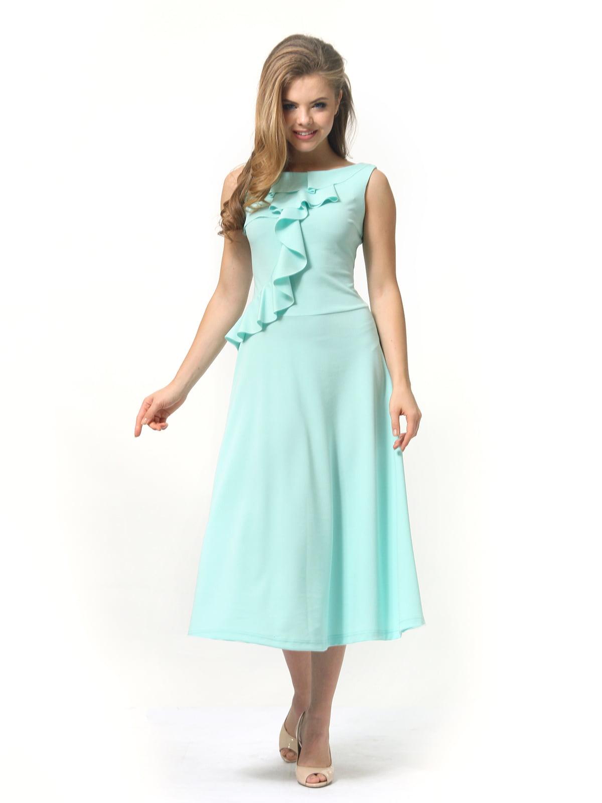 Платье мятного цвета   4389315   фото 2