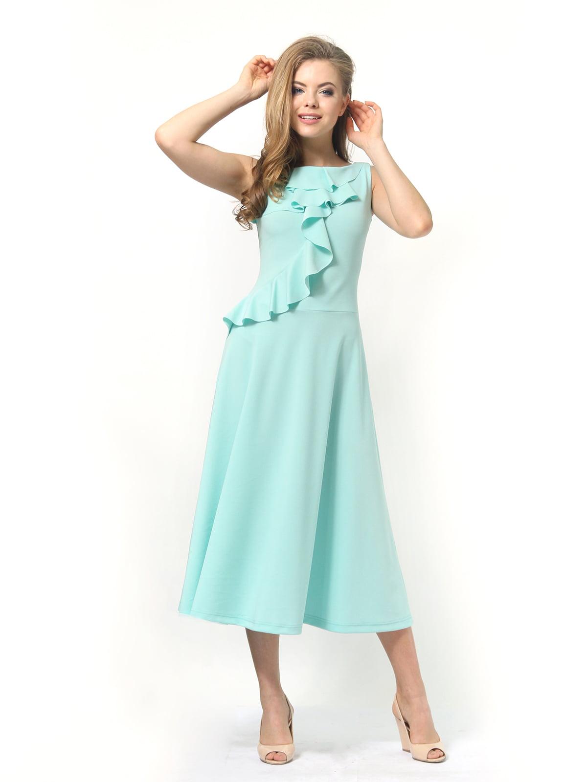 Платье мятного цвета   4389315   фото 3