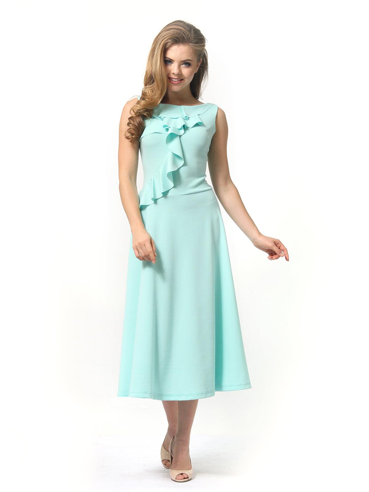 Платье мятного цвета   4389315   фото 4
