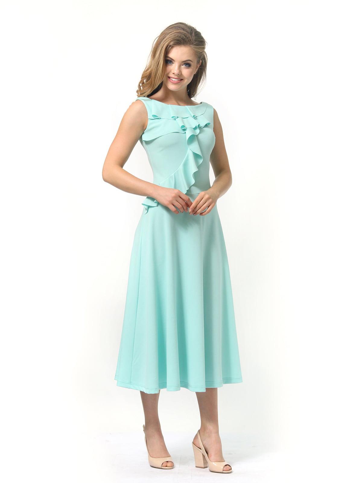 Платье мятного цвета   4389315   фото 5