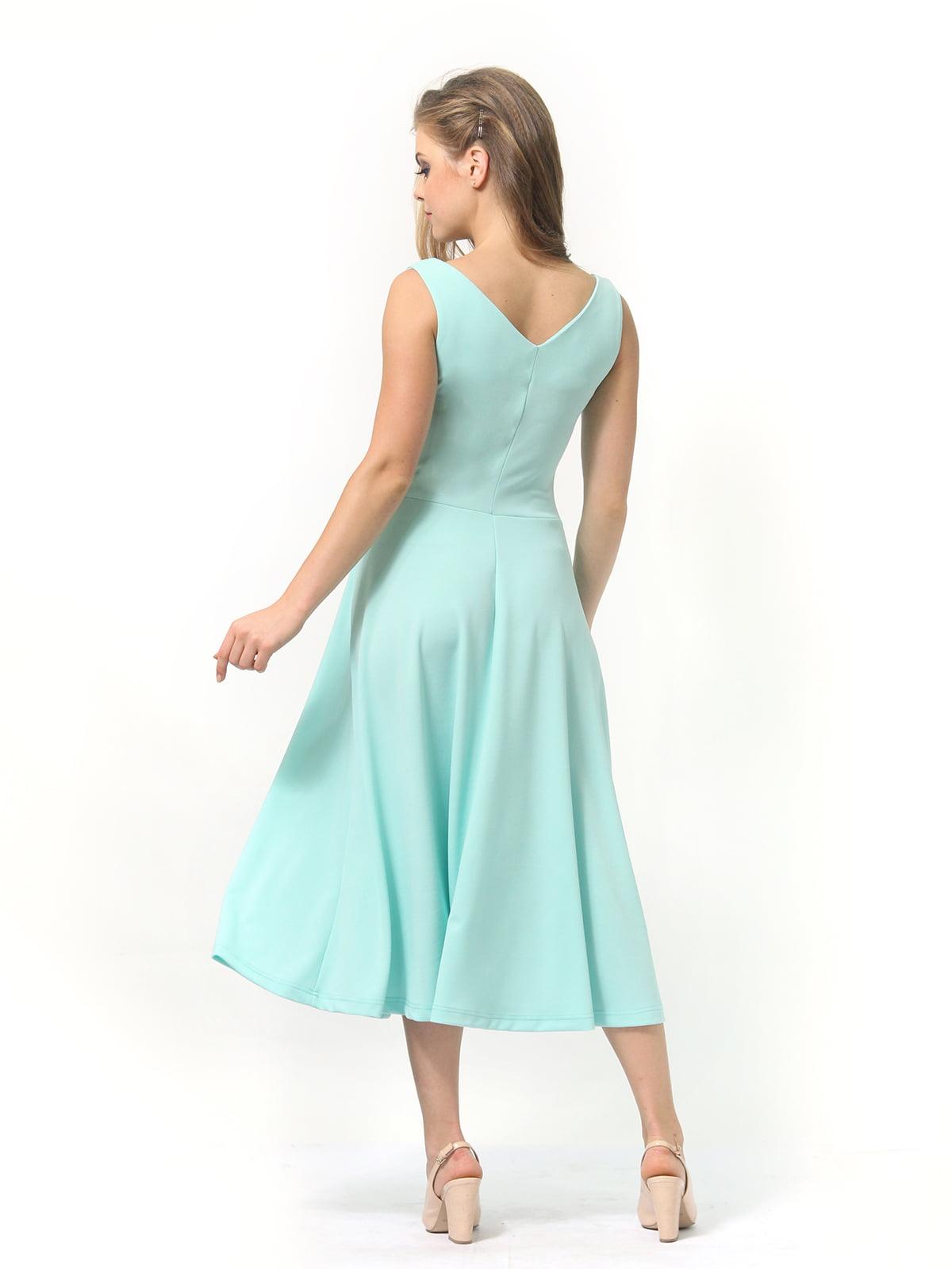 Платье мятного цвета   4389315   фото 7