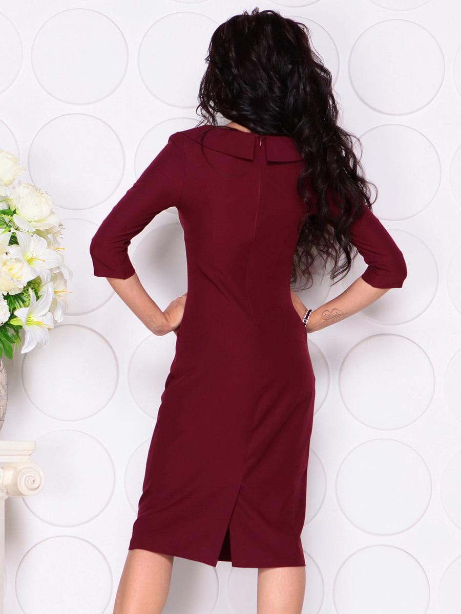 Платье сливового цвета | 4389190 | фото 2