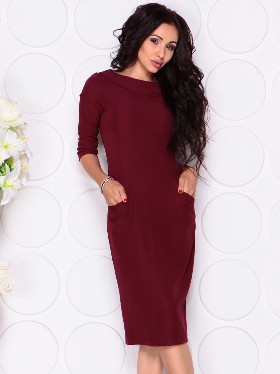 Платье сливового цвета | 4389190 | фото 3