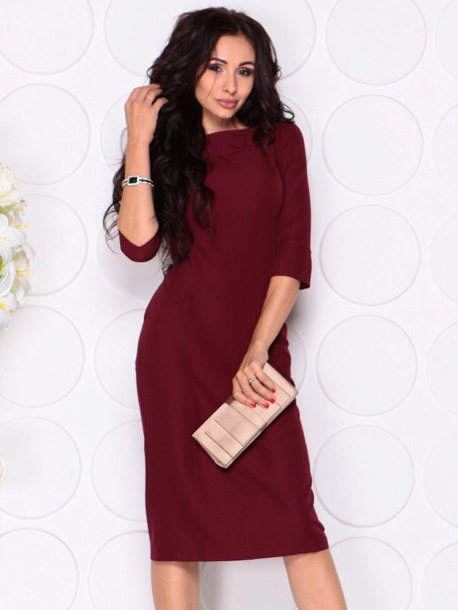 Платье сливового цвета | 4389190 | фото 4