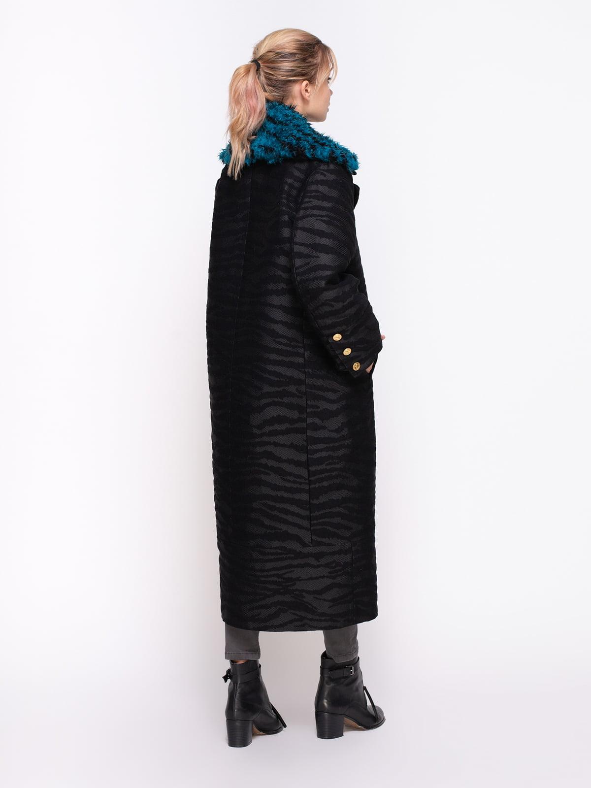 Пальто черное | 4372241 | фото 2