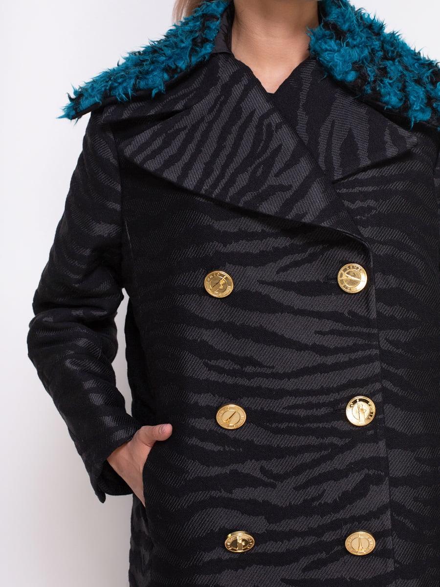 Пальто черное | 4372241 | фото 3