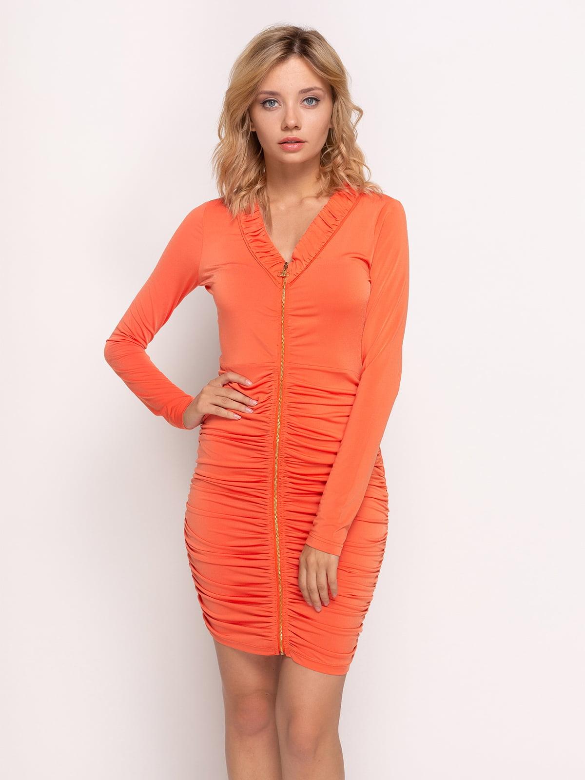 5418a0f826f640b Платье оранжевое — Ciolla, акция действует до 25 февраля 2019 года ...