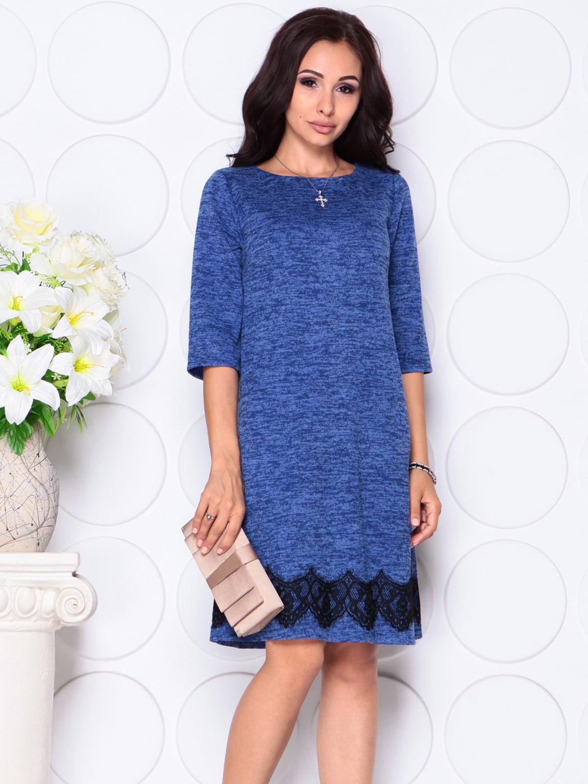 Платье цвета электрик | 4399842