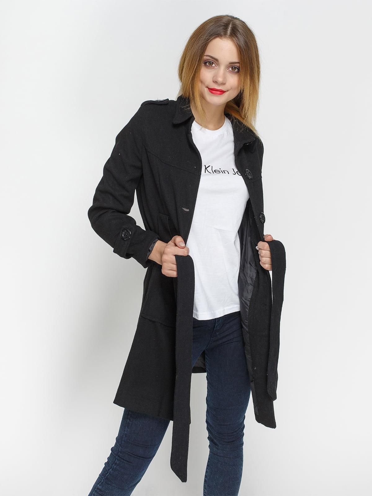 Пальто черное | 4327084