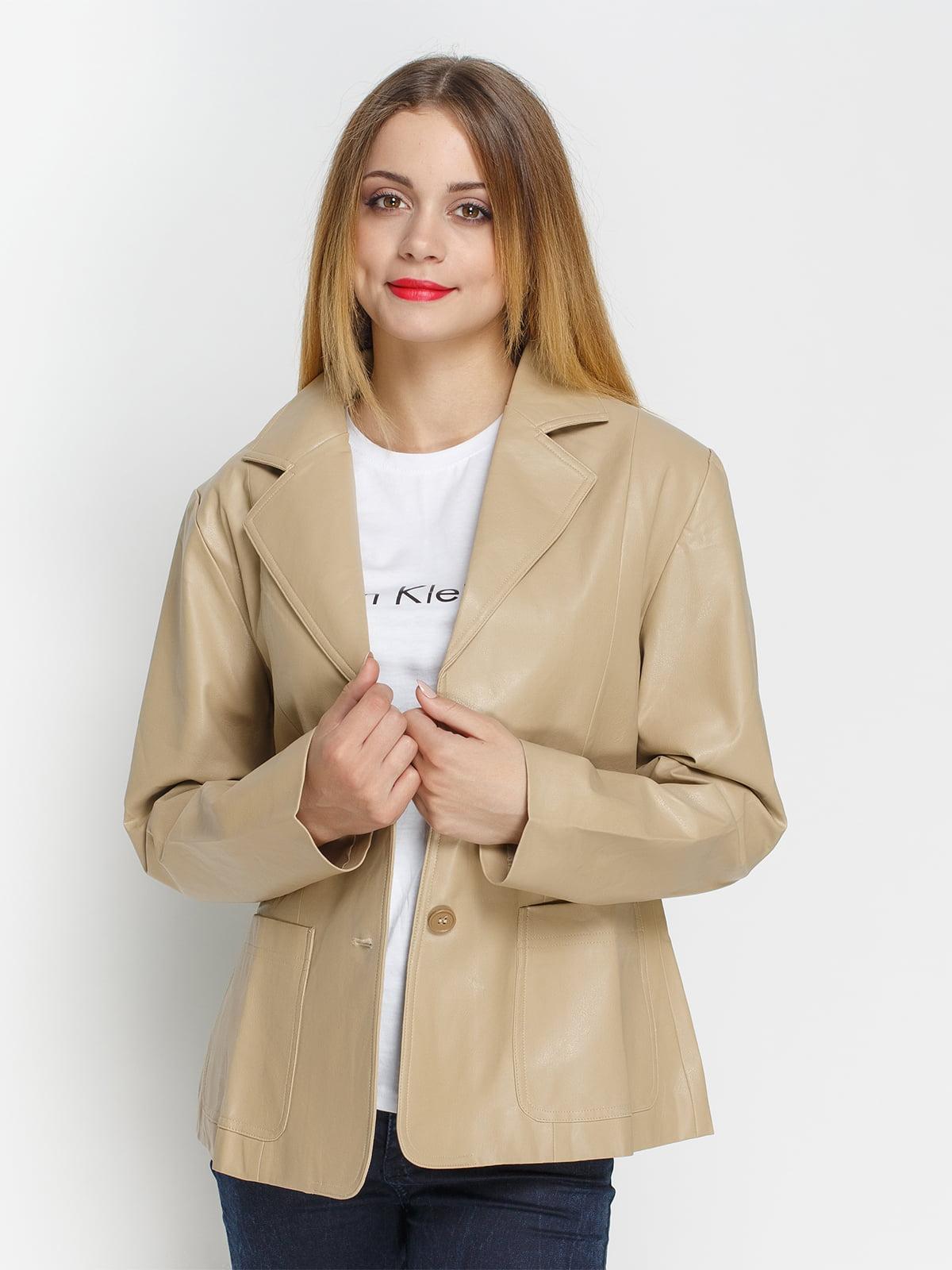 Куртка бежева | 4327098