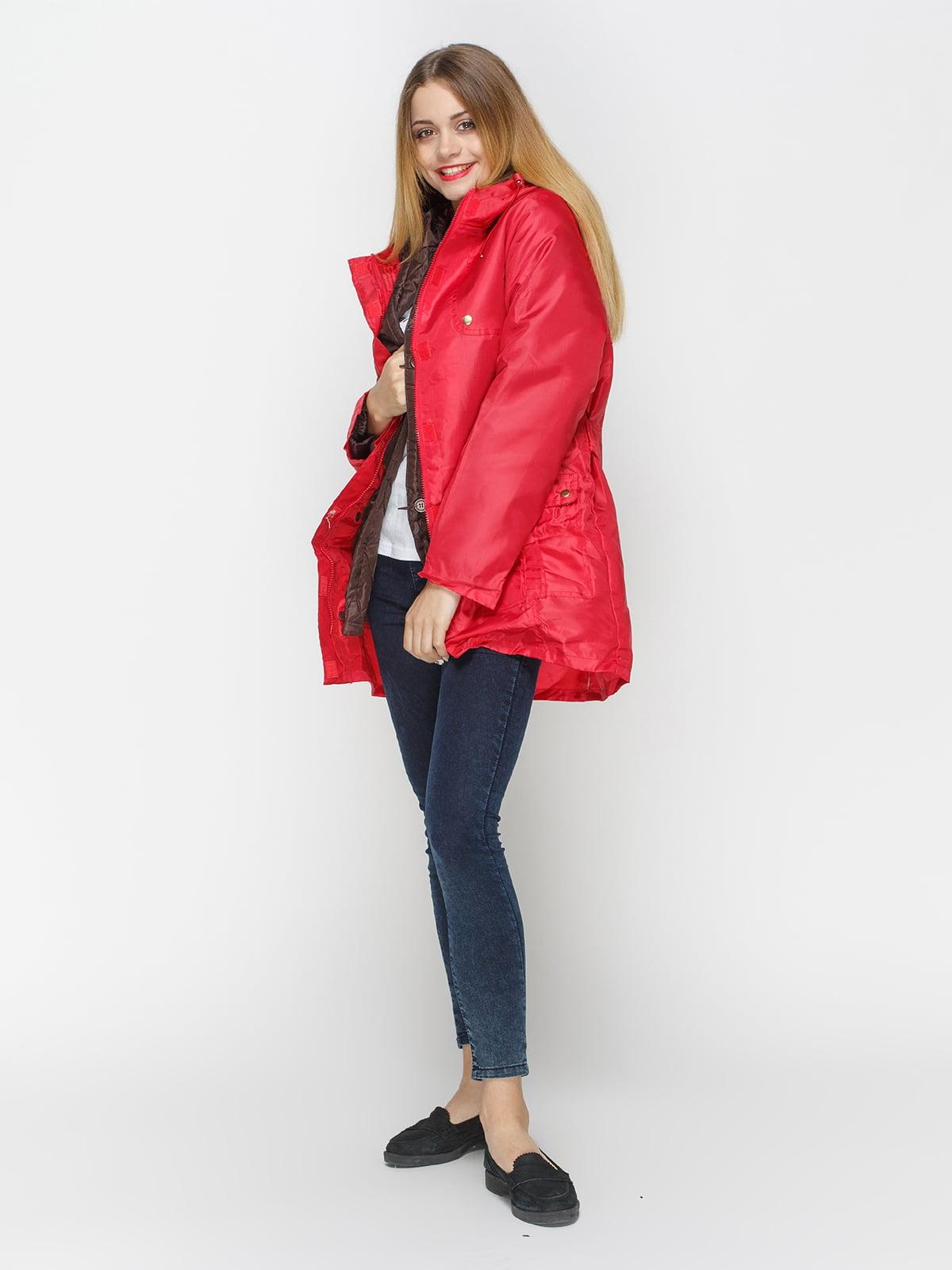 Куртка красная | 4327087 | фото 2