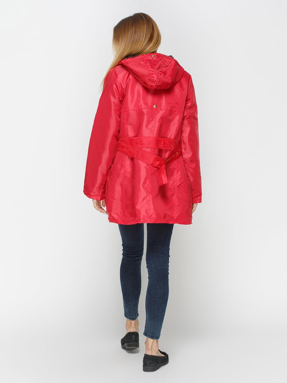Куртка красная | 4327087 | фото 3