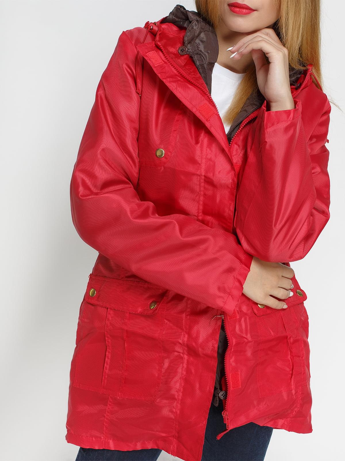 Куртка красная | 4327087 | фото 4