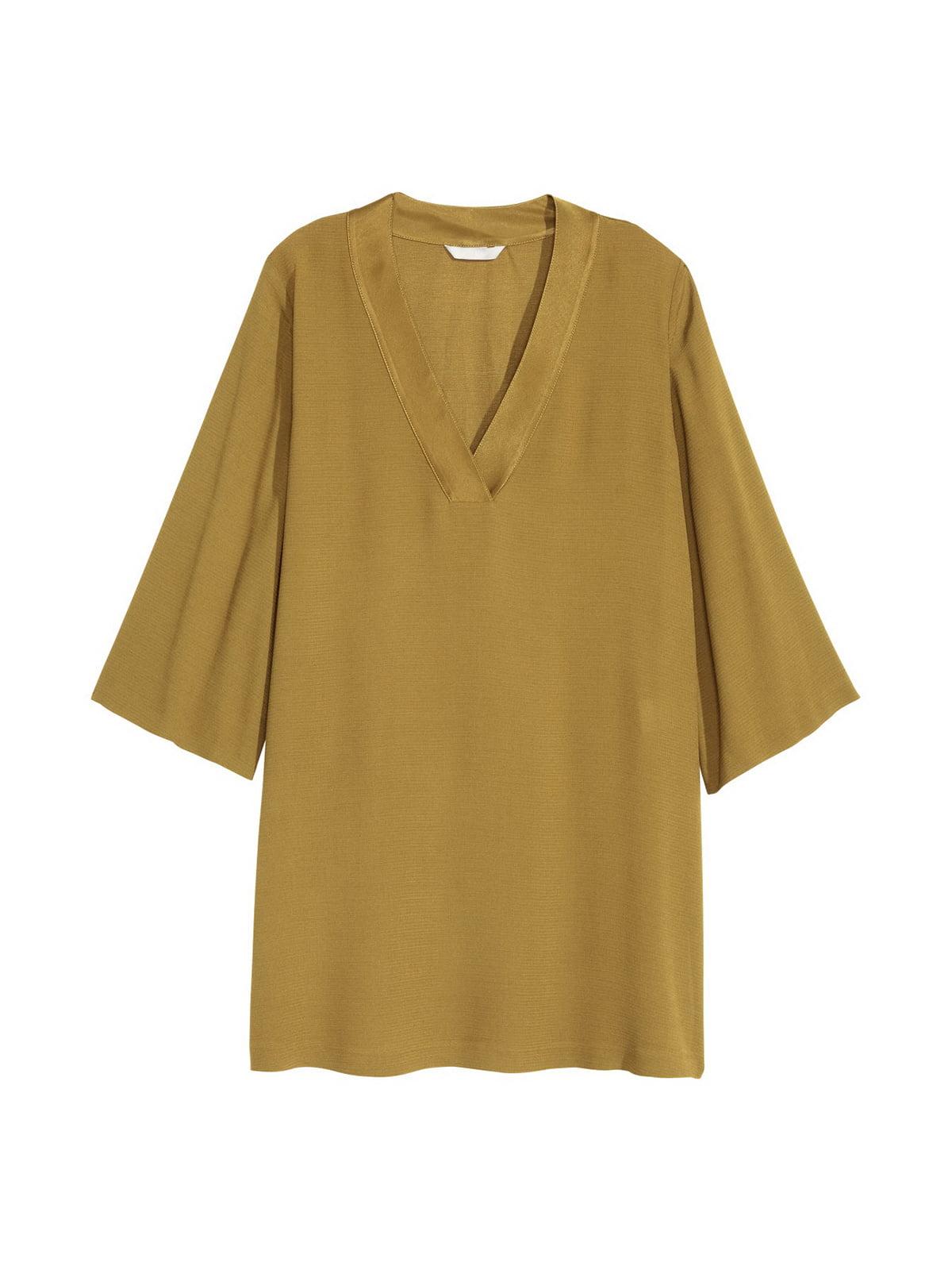 Блуза кольору хакі   4405128