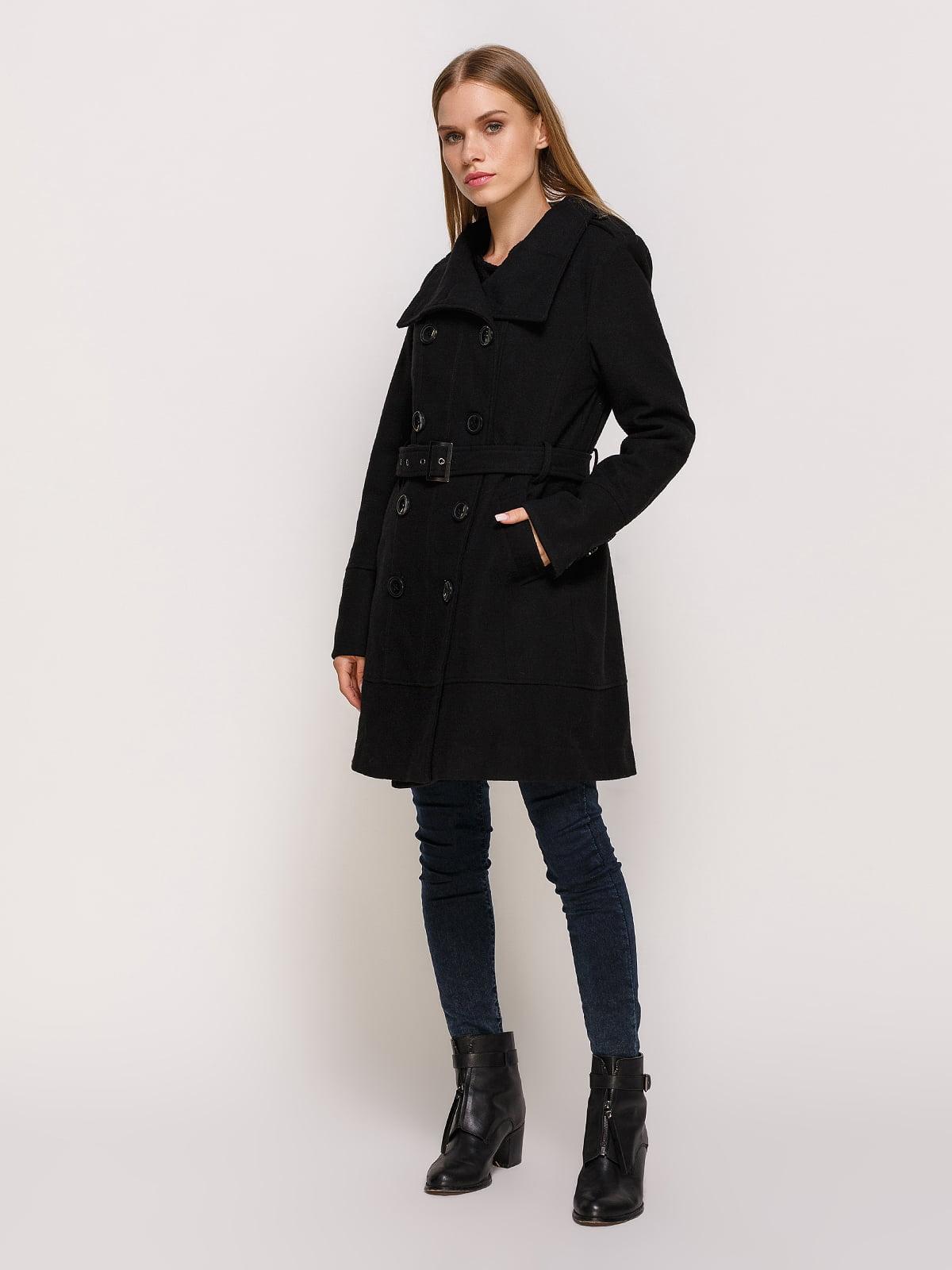 Пальто черное | 3167005 | фото 2