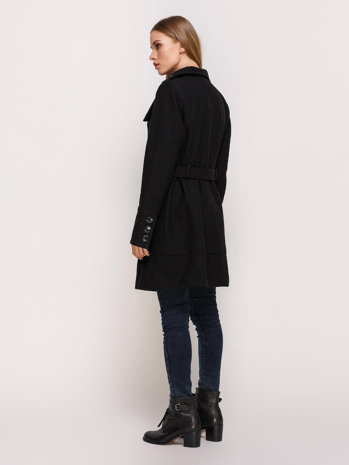 Пальто черное | 3167005 | фото 3