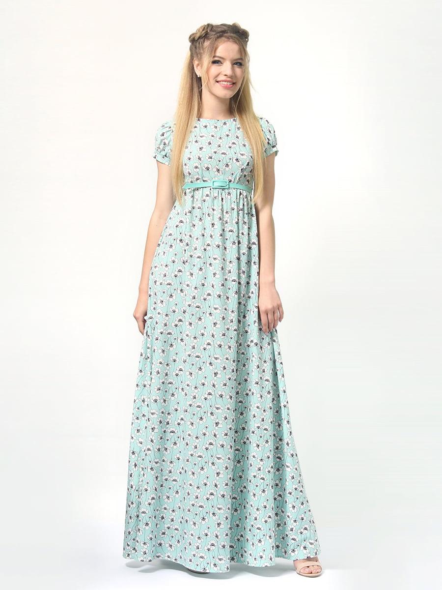 Сукня в квітковий принт | 4406900